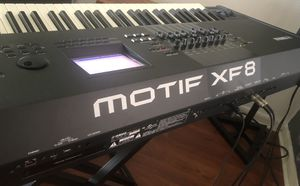 Yamaha Motif Xf8 Synthetizer 88 keys Like New Conditions for Sale in Land O' Lakes, FL