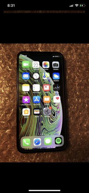 iPhone X 64 fab unlocked for Sale in Lincolnwood, IL