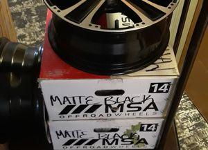 Msa brand new rims in box for Sale in Mesa, AZ
