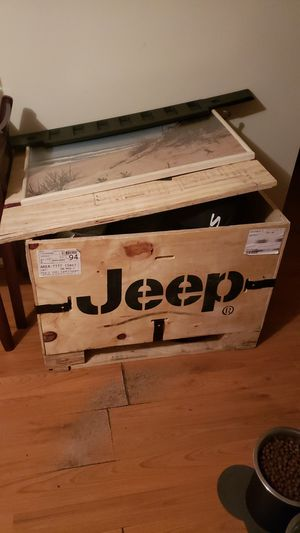 Authentic Jeep Box for Sale in West Warwick, RI