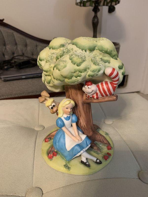 Disney's Alice in wonderland porcelain figurine