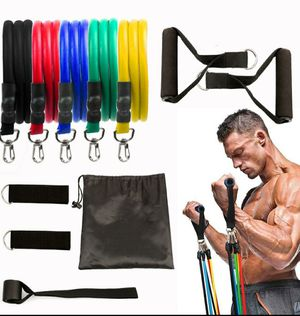 11 pieces resistance bands for Sale in San Jose, CA