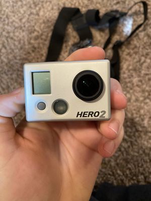 GoPro Hero 2 (with chest strap, waterproof case) for Sale in Scottsdale, AZ