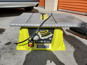 "RYOBI 10"" Table saw for Sale in Manteca, CA"