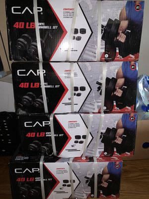 Cap adjustable dumbbell up to 40 lbs for Sale in Harrisburg, PA