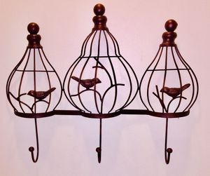 Birds In Cage Metal Wall Hook for Sale in Woodstock, GA