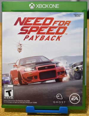 Need for Speed Payback - XBox Game NEW for Sale in Corona, CA