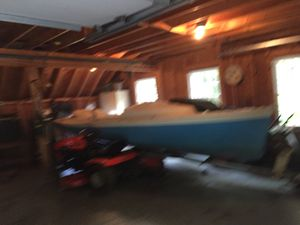 O'Day 17' Daysailer sailboat with trailer. for Sale in Augusta, ME