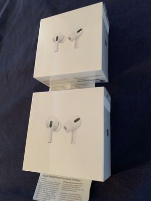 apple airpods pro new sealed with apple care and comes with receipt for Sale in Hayward, CA