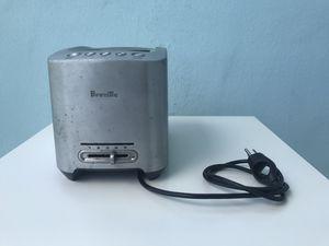 Breville Die-Cast Stainless-Steel Toaster, 2 Slice, Model #BTA820XL for Sale in Biscayne Park, FL