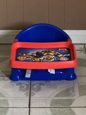 LIKE NEW PAW PATROL BOOSTER SEAT for Sale in Riverside, CA