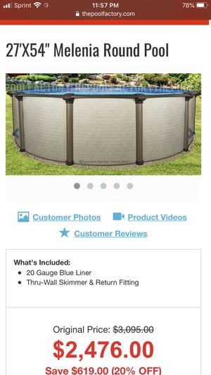 Above Ground Pool for Sale in Haines City, FL