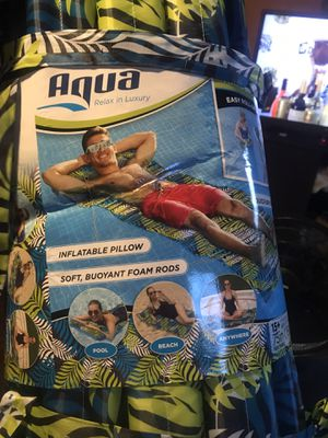 Aqua pool inflatable pillows for Sale in Cleveland, OH