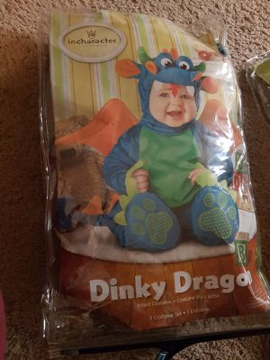 Halloween dinky dragon costume for Sale in Peoria, IL