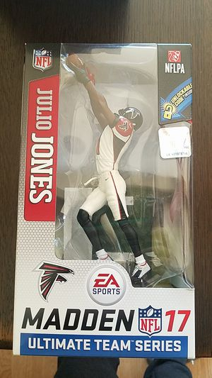 Julio Jones Madden 17 statue collectible for Sale in Bedford, TX