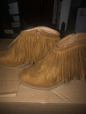 Shoes with fringe for Sale in Standish, ME