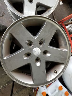 Set of 18 inch jeep wheels for Sale in BALTIMORE, MD
