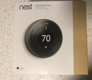 Nest Thermostat - Generation 3 OPEN BOX - NEW for Sale in Herndon, VA