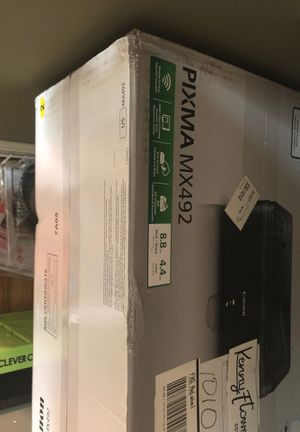 PIXMA MX492 Canon printer for Sale in Boston, MA
