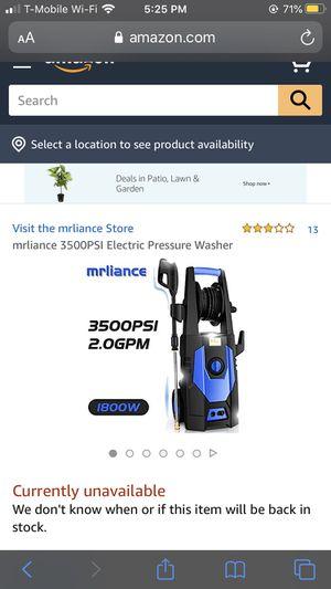 Pressure washer for Sale in Chula Vista, CA