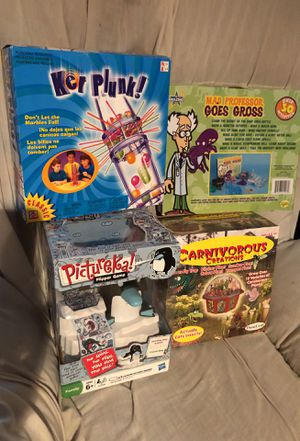 Kids games. All new. Never opened. for Sale in Garner, NC