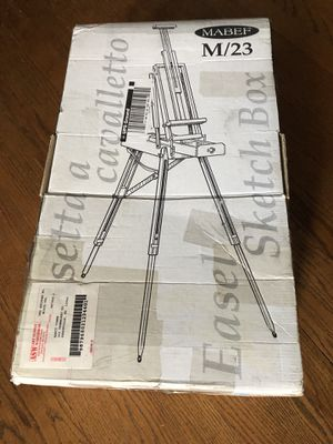 Mabef Portable Painting Easel for Sale in Chapel Hill, NC