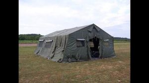Military Temper Tent **Make a Reasonable Offer ** for Sale in Camden Wyoming, DE