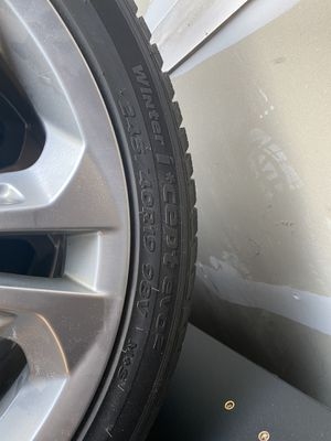 Winter rims and tires for Sale in Lake in the Hills, IL