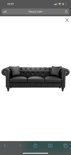 Leather upholstered Couch for Sale in Nashville,  TN
