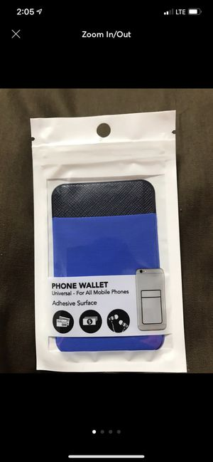 Blue Phone Wallet for Sale in Sioux Falls, SD