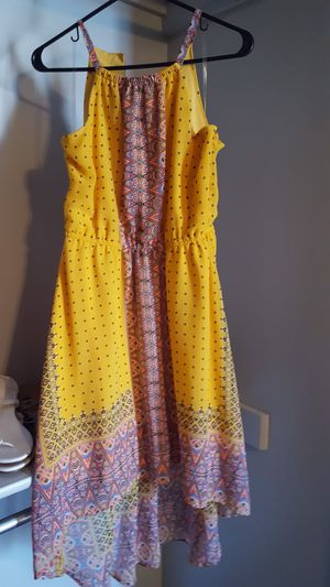 Yellow colored summer dress for Sale in Layton, UT