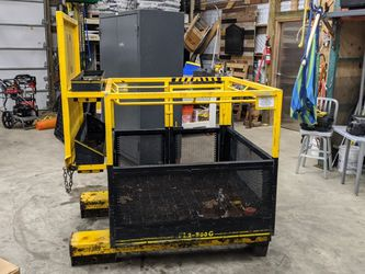 2 Person Safety Forklift Basket. Heavy Duty for Sale in Maple Valley,  WA