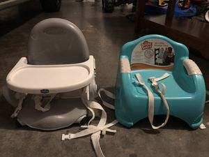 Booster Seats - Set of 2 for Sale in Colleyville, TX