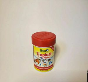 TetraColor Tropical Fish Flakes with Natural Color Enhancer 7.06-Ounce for Sale in San Diego, CA