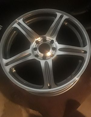 """New universal 17"""" rims never mounted for Sale in Owatonna, MN"""