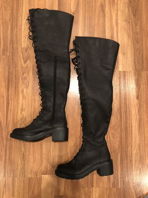Boots Over the Knee Size 9 Womens for Sale in San Dimas, CA