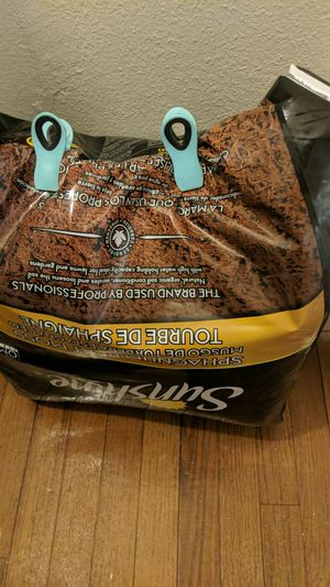 Big bag of peat moss for Sale in Gresham, OR