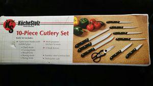 10 Piece Cutlery Set for Sale in Glen Burnie, MD