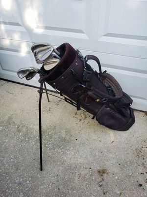 Assortment of Golf Clubs w/ Golf Bag for Sale in Philadelphia, PA