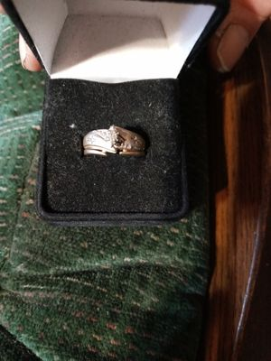2 piece wedding ring size 7 for Sale in Tompkinsville, KY