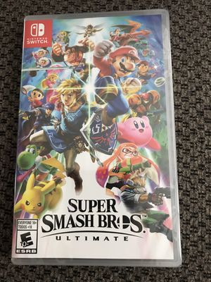 Brand New - Super Smash Bros Ultimate - Nintendo Switch for Sale in Akron, OH