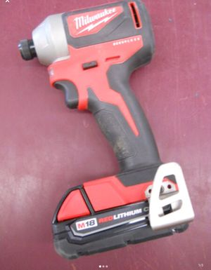 CORDLESS IMPACT DRIVER MILWAUKEE 18V LITHIUM BRUSHLESS M18 for Sale in Columbus, OH