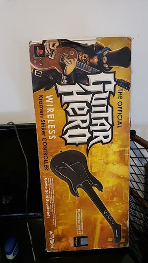 Guitar hero ps2! for Sale in Los Angeles, CA