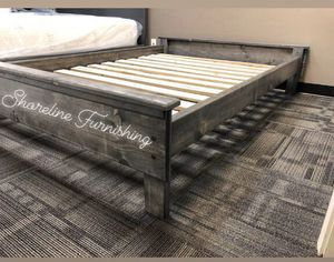 New Full Size Frame and Mattress for Sale in Irvine, CA