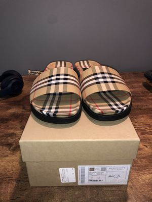 Burberry slides for Sale in Warren, NJ
