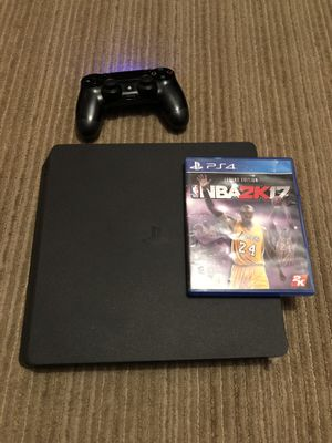 PS4 Slim in great condition for Sale in Modesto, CA
