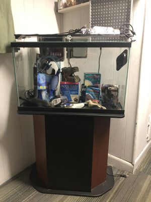 29 Gallon Fish Tank with many Accessories for Sale in Queens, NY