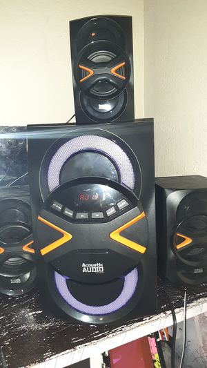 Stereo system with 5.9 surround sound for Sale in Fresno, CA