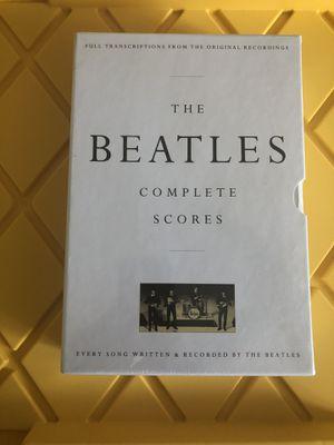The Beatles Complete Scores for Sale in Atlanta, GA