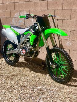 2oo9 Electric Fuel Injected Kawasaki Kx450 Motocross Bike  for Sale in North Las Vegas, NV